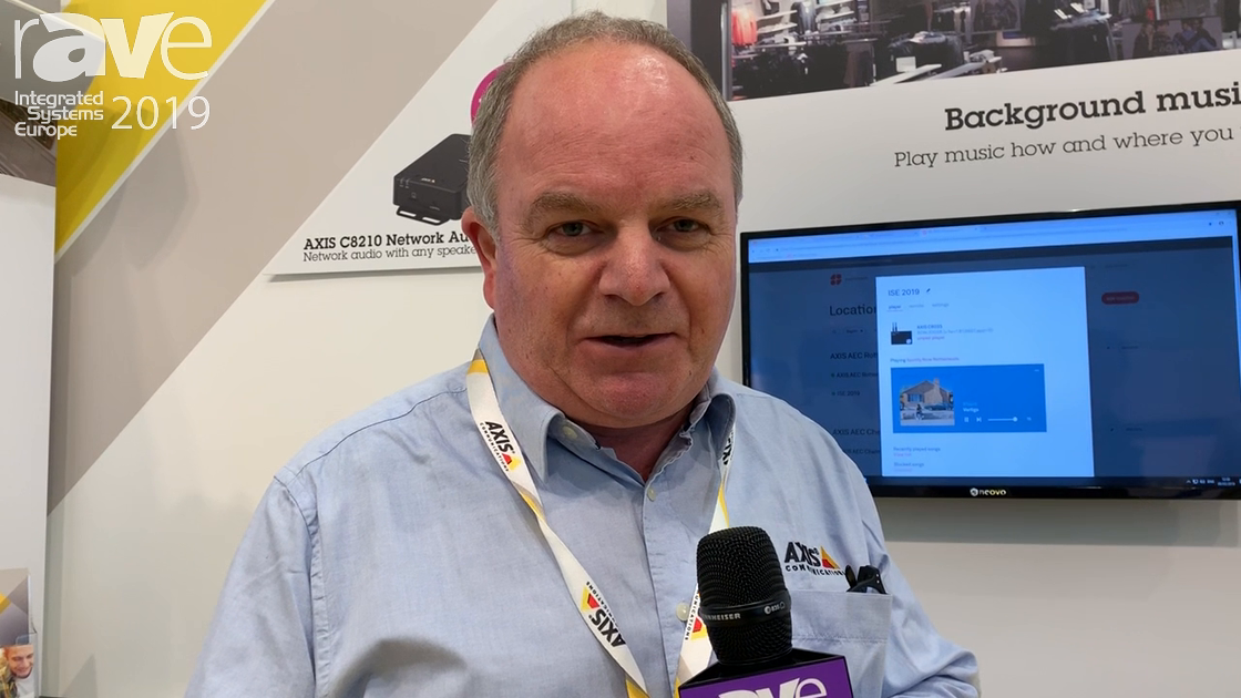ISE 2019: AXIS Communications Demonstrates Network Audio for Retail Background Music