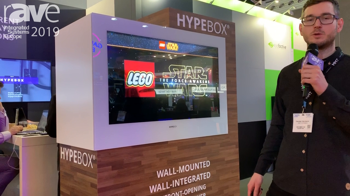 ISE 2019: MMT Shows Hypebox InWall 43-Inch Display for Retail Spaces