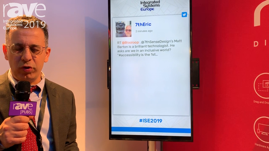ISE 2019: Novisign Explains Social Widgets for Digital Signage