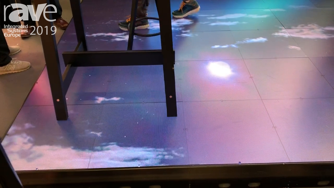 ISE 2019: Rocketsign Shows Off Floor Screen Outdoor 3.9mm Pixel Pitch