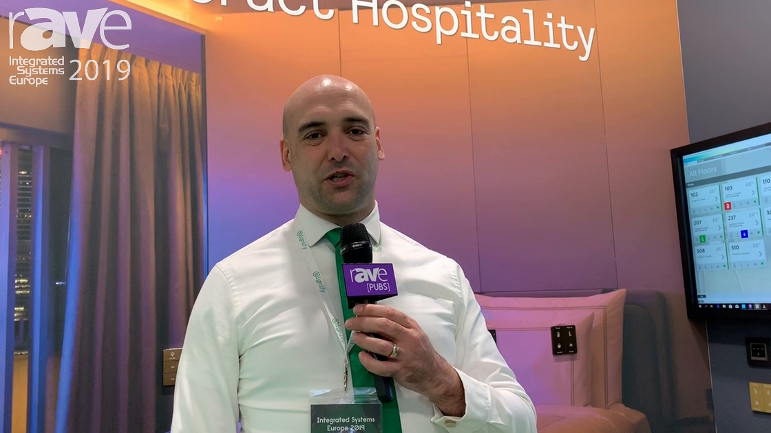 ISE 2019: Philips Dynalite Signify Demos Interact Hospitality for Hospitality Environments