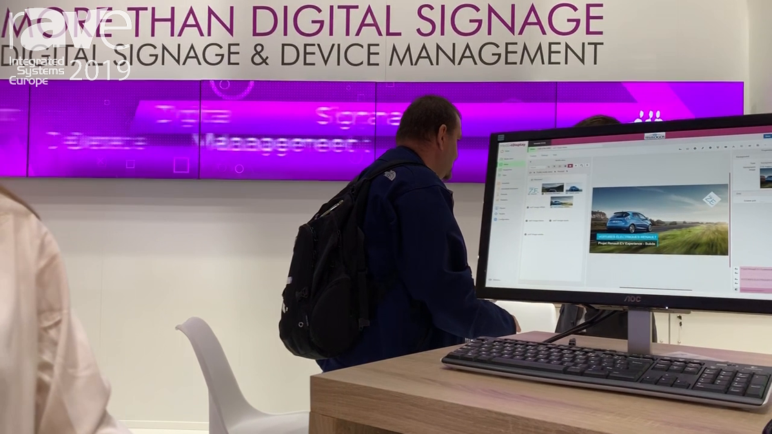 ISE 2019: Telelogos Talks About Digital Signage and Room Booking Solutions