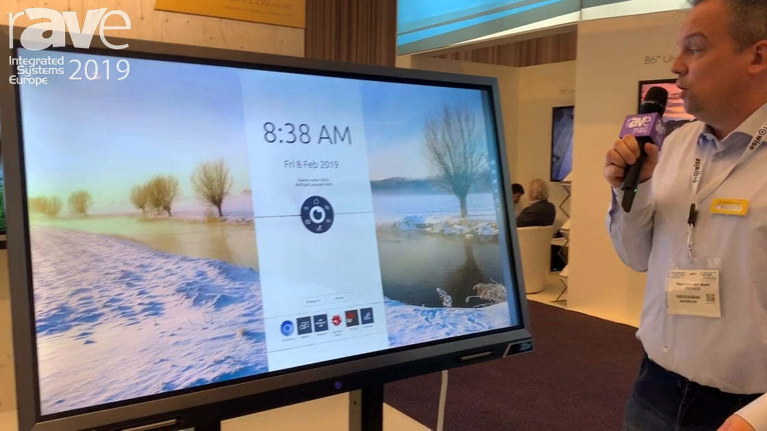 ISE 2019: Prowise Shows Off 75-Inch Touchscreen Solution