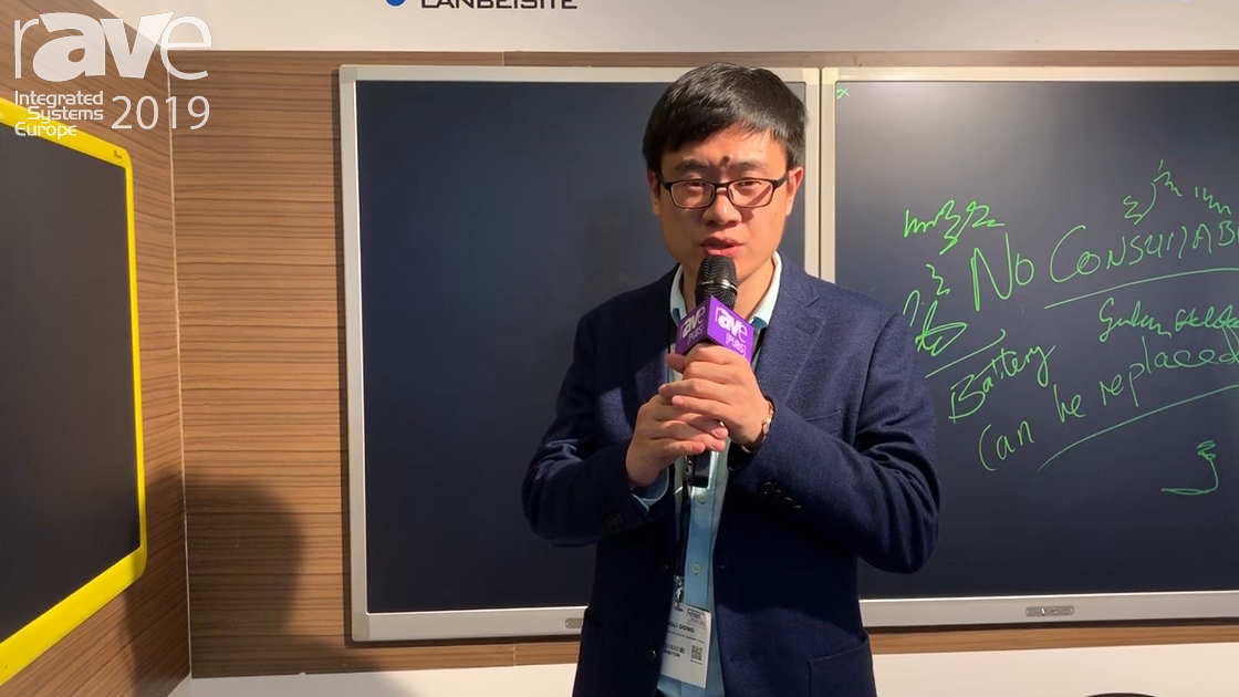 ISE 2019: Shandong Lanbeisite Educational Equipment Group Demos Simple, Effective LCD Writing Board