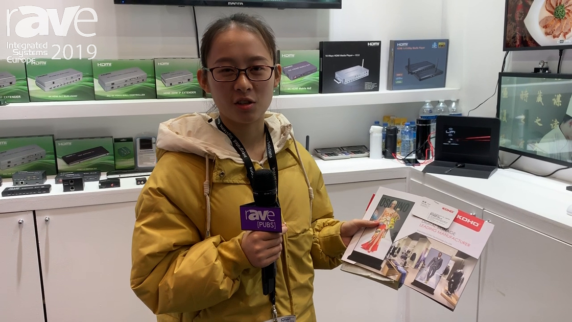 ISE 2019: Shenzhen Suofeixiang Technology Co. Showcases Numerous Digital Signage Options for Retail