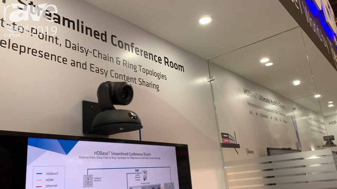 ISE 2019: HDBaseT Alliance Showcases a Streamlined Conference Room