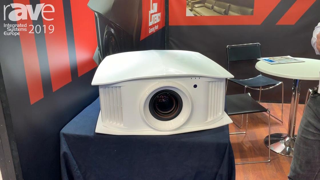 ISE 2019: Cineversum Shows Off 4K (e-Shift) Blackwing Elite MK 2019 Projector