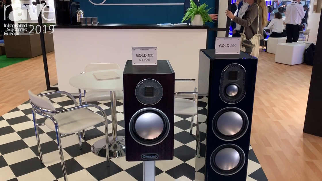 ISE 2019: Monitor Audio Debuts Gold Series With Gold 100 and Gold 200 Speakers