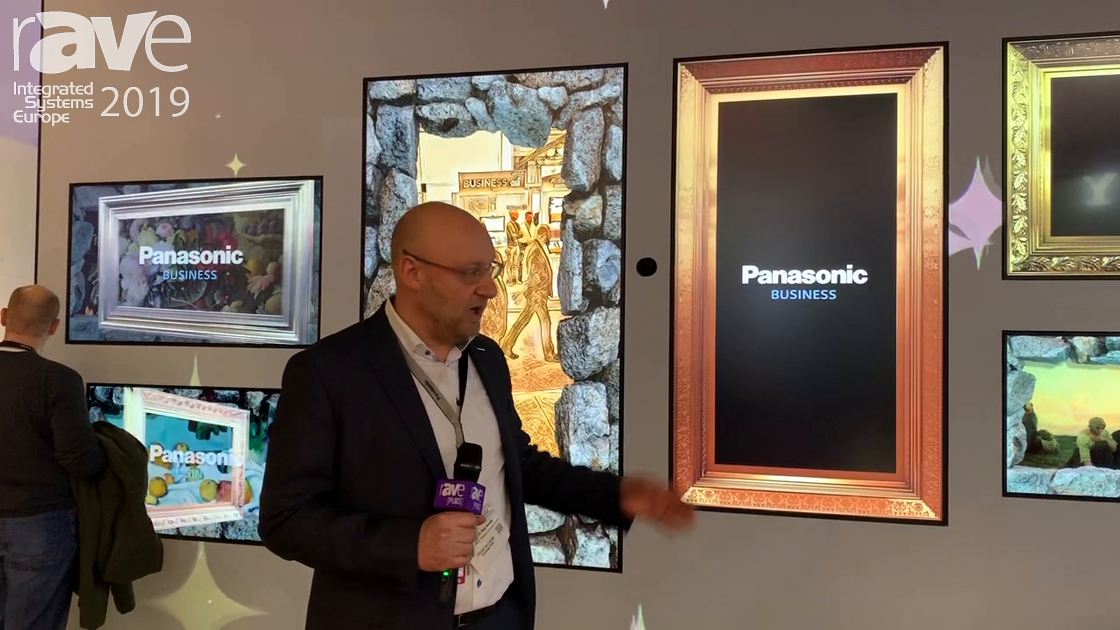 ISE 2019: Panasonic Demos EQ1 Display Series with PT-RQ22 Projector in a Unique Retail Application