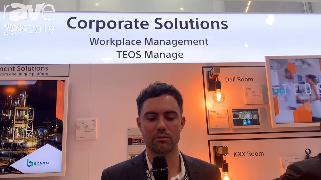 ISE 2019: Sony Electronics Discusses TEOS Manage, a Complete Workplace Management Solution