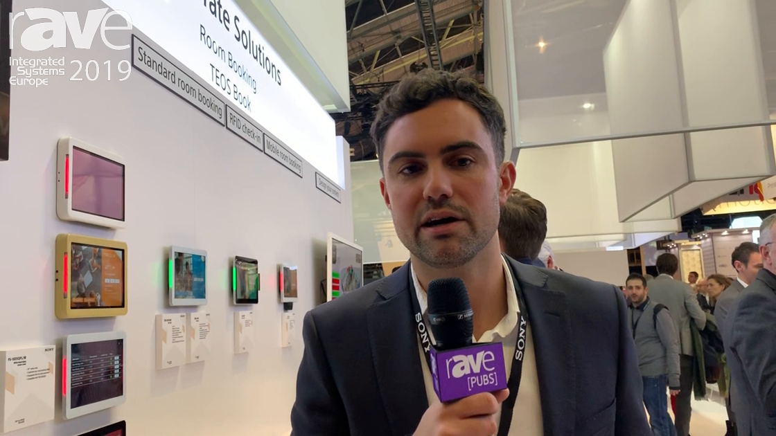 ISE 2019: Sony Electronics Presents the TEOS Book Room Booking Solution