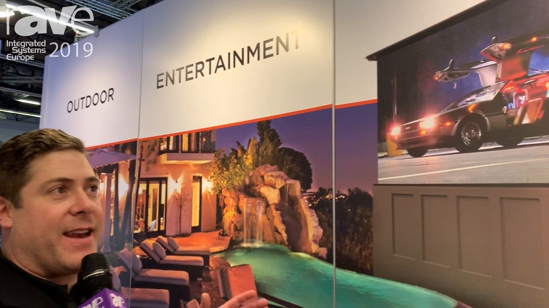 ISE 2019: Stealth Acoustics Shows Stealth Patio Theater Turn-Key Outdoor Entertainment Solution