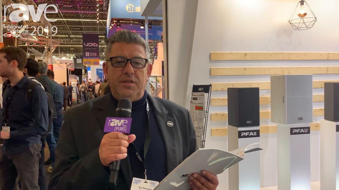 ISE 2019: CVA Electronica (NEXT-proaudio) Exhibits LAm114xA On-Stage Active Monitor
