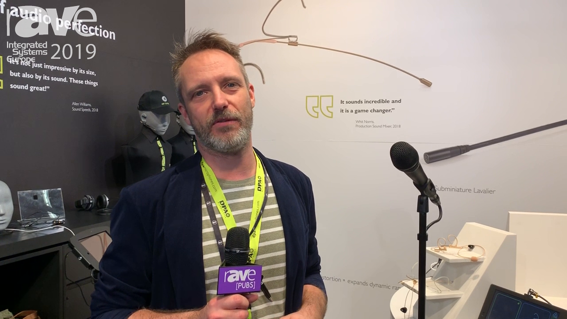 ISE 2019: DPA Microphones Highlights De Facto Vocal Mic