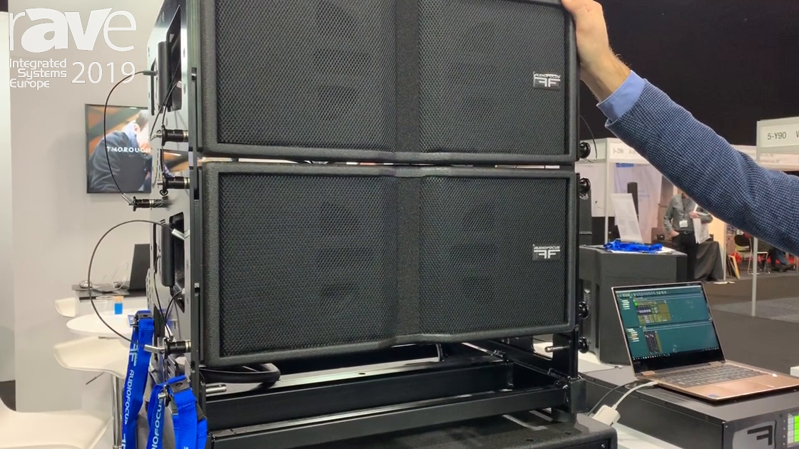 ISE 2019: Audio Focus Presents Area 8 HQ Line Array System for Rental and Staging