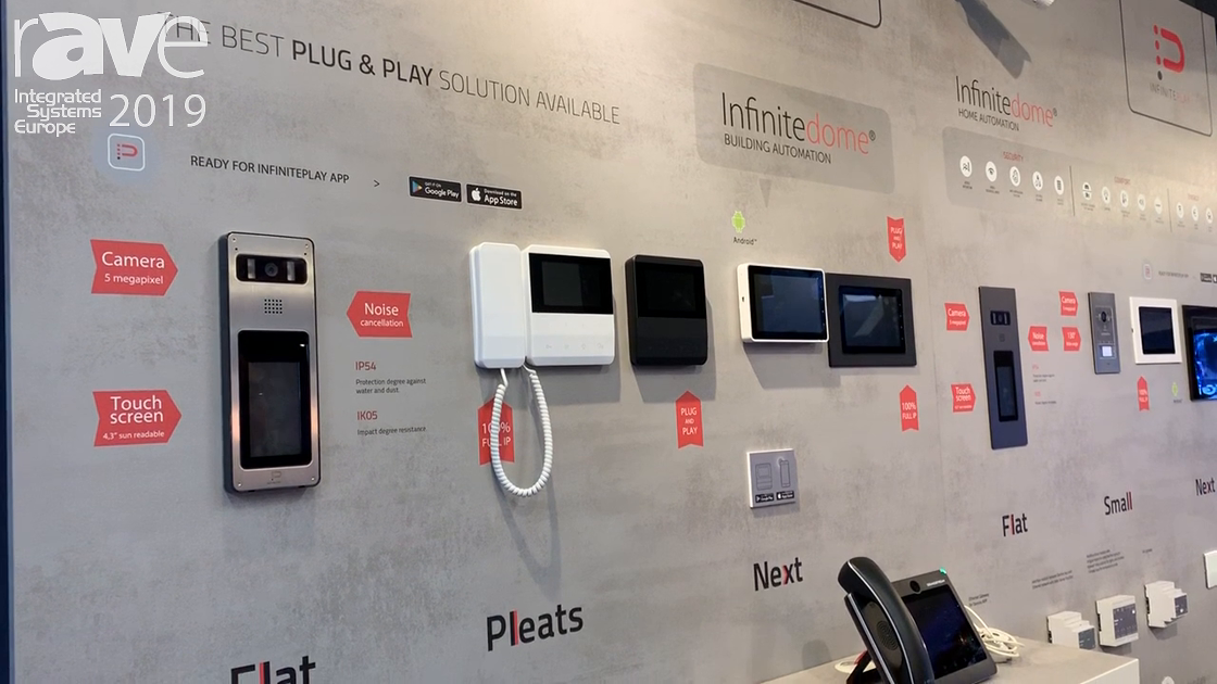 ISE 2019: Infinite Play Features IP-Based Intercom for Homes