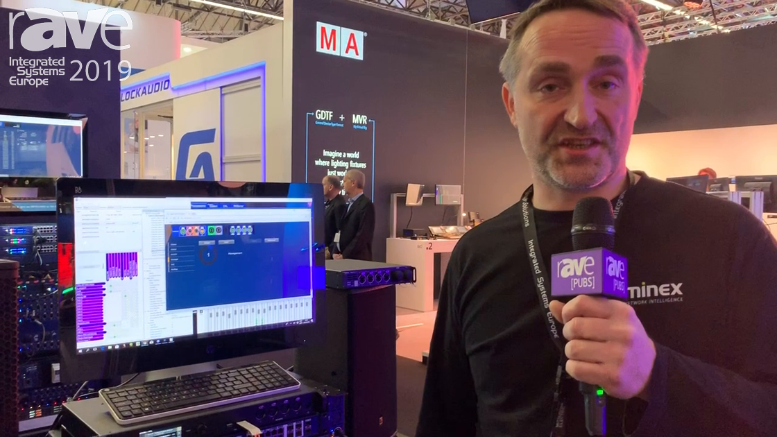 ISE 2019: Luminex Presents GigacCore 26i Network Switch with AVB