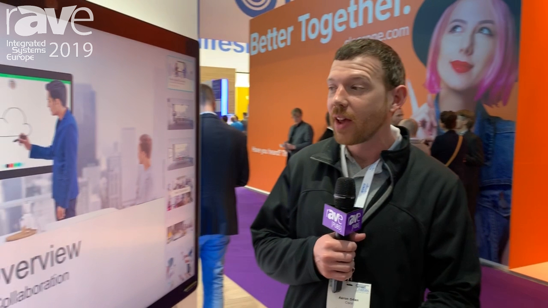ISE 2019: Cisco Talks About Webex Board 85 4K Collaboration Display