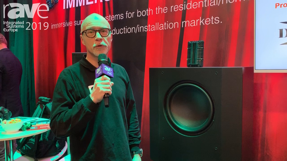 ISE 2019: Alcons Audio Showcases the CRMS LFE15 Sound System