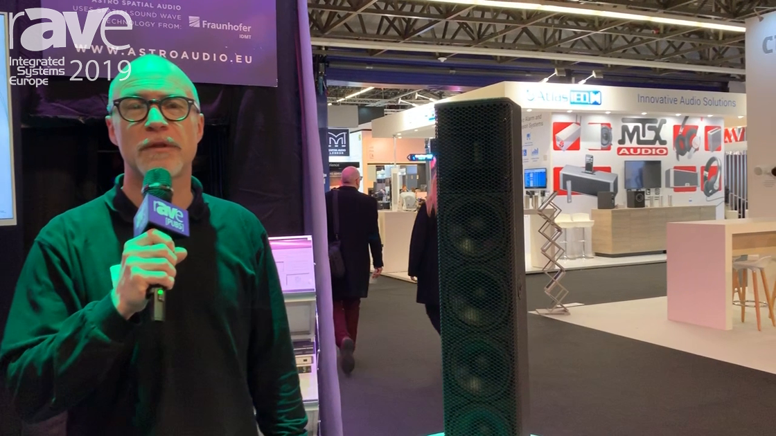 ISE 2019: Alcons Audio Previews the QR-20 Column Speaker for Reverberant Rooms