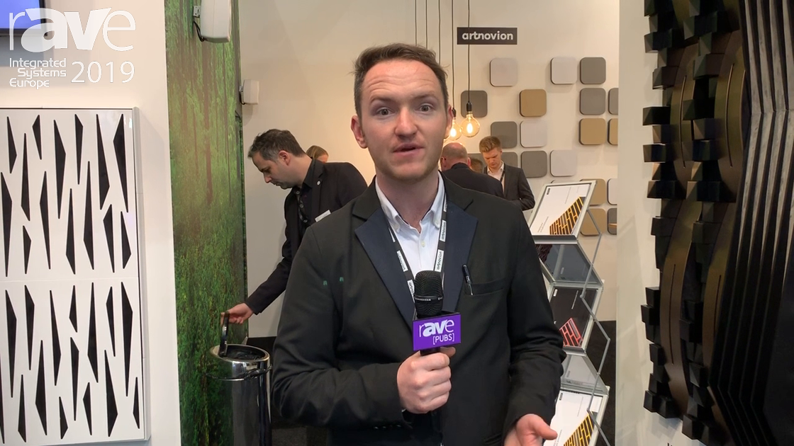 ISE 2019: Artnovion Exhibits The Jan Morel Range of Acoustic Treatment for Studios