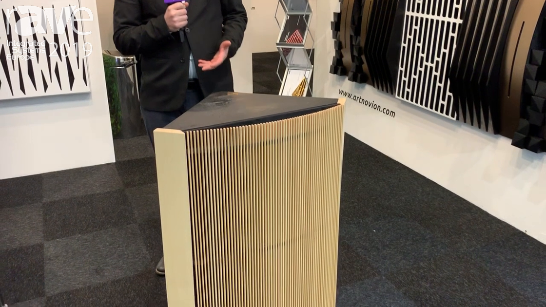 ISE 2019: Artnovion Showcases The Eiger Sub Trap, Tuneable Low Frequency Absorber From 40 to 60 Hz