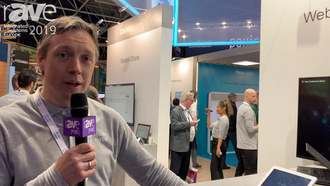 ISE 2019: Cisco Exhibits Webex Room Kit Mini Videoconferencing Solution