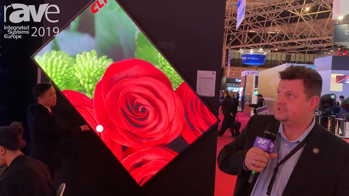 ISE 2019: CLT LED Technology Features the X-Board 89″ LED Display