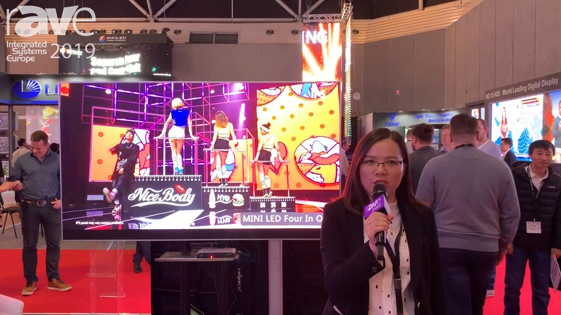 ISE 2019: Esdlumen Talks Abount Mini LED Series Four-In-One Display