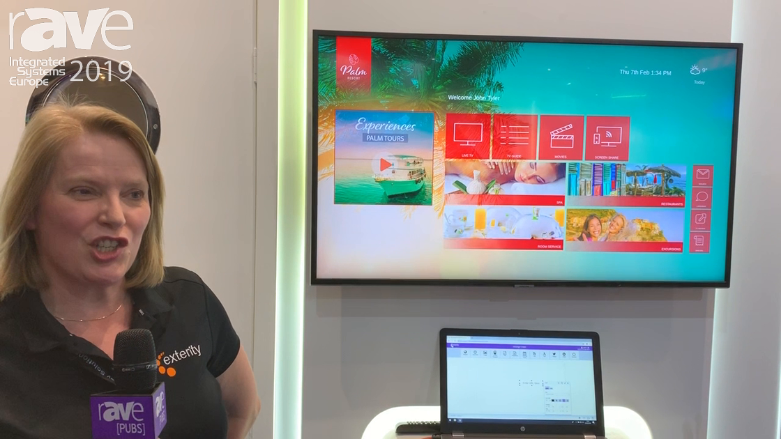 ISE 2019: Exterity Intros ArtioGuest Guest Interactive Portal for Hospitality Applications
