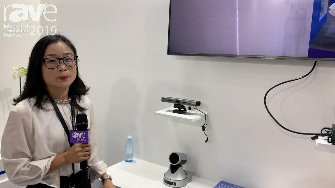 ISE 2019: Minrray Debuts 4K Desktop Camera for Videoconferencing Solutions