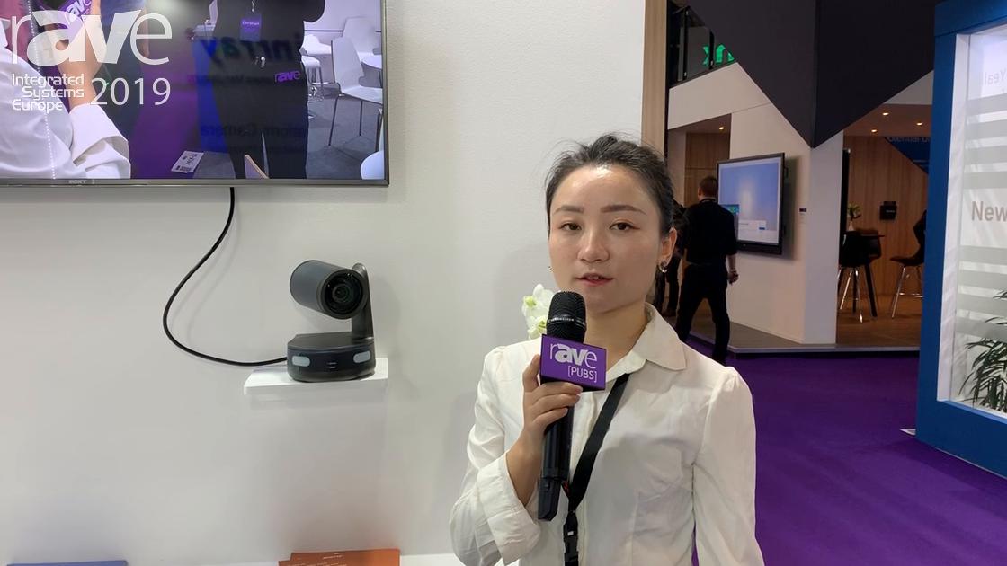 ISE 2019: Minnray Presents 4K Ultra HD PTZ Camera