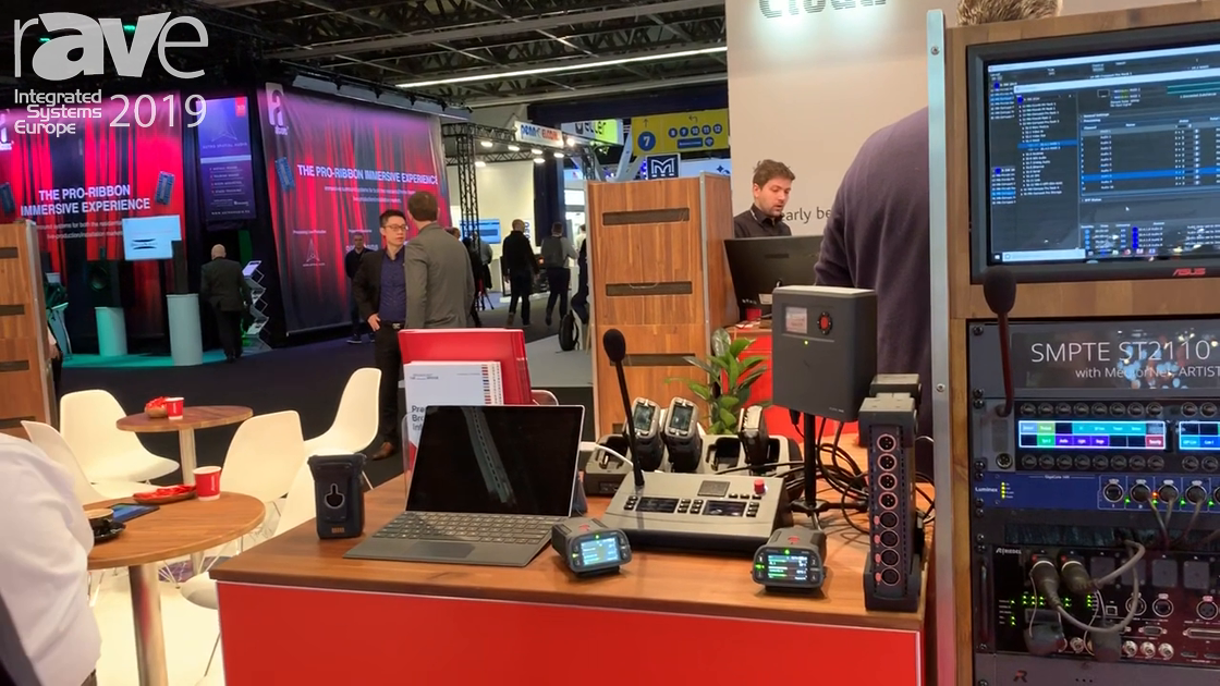 ISE 2019: Riedel Communications Bolera Stand Alone Ecosystem for Sound Management