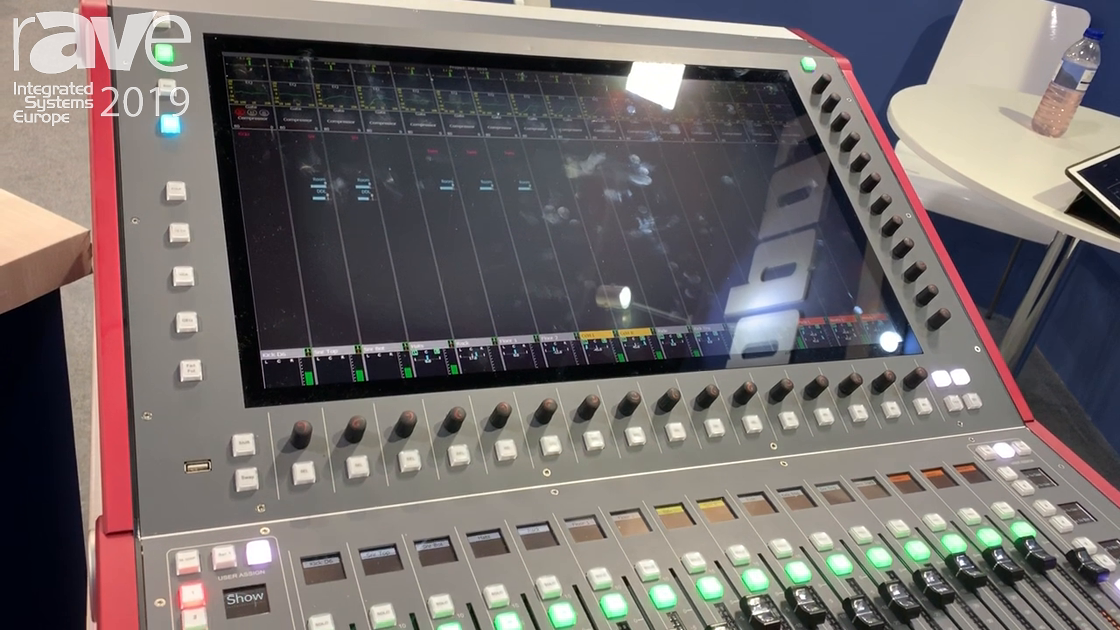 ISE 2019: CADAC Gives Overview of CDC 5 Audio Console