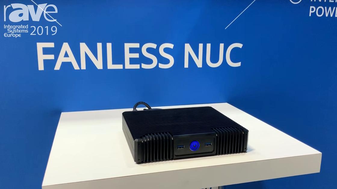 ISE 2019: G2 Digital Intros 1U Fanless Nuc Rack-Mountable Computer