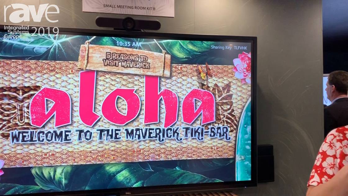 ISE 2019: Maverick Discusses Zoom Room Solutions