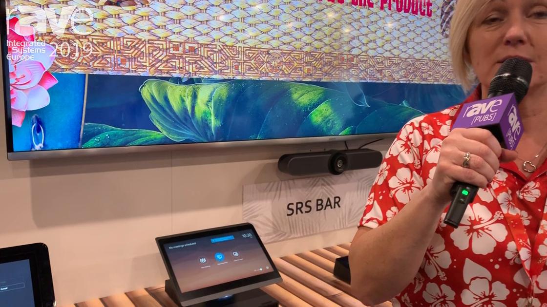 ISE 2019: Maverick Previews Microsoft SRS Teams Room Solution With Logitech SmartDock