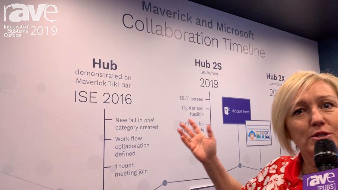 ISE 2019: Maverick Previews Microsoft Surface Hub