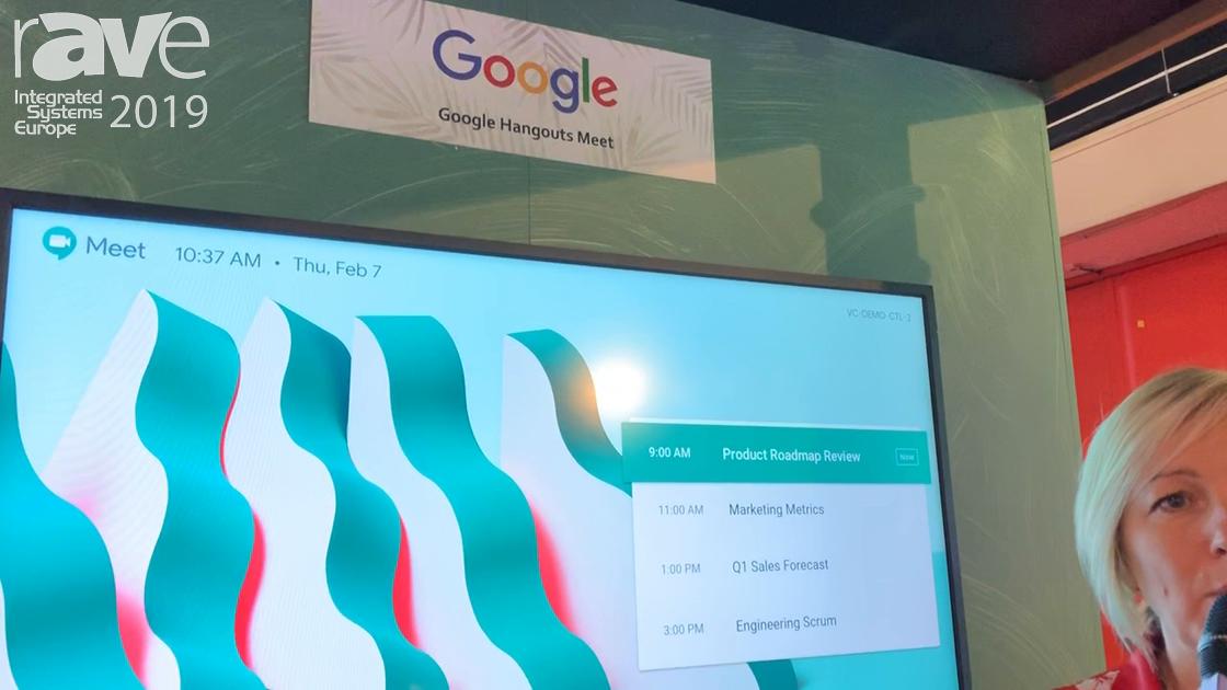 ISE 2019: Maverick Shows Google Hangout Meets Platform With Logitech Tap