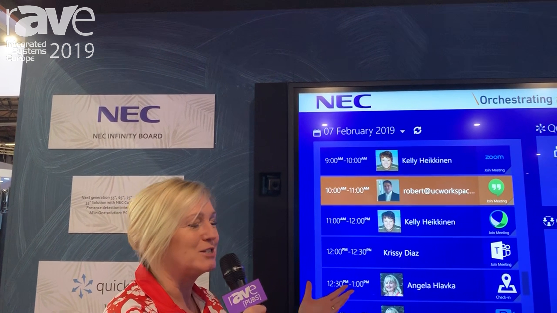 ISE 2019: Maverick Talks About Partnership with NEC Display, Shows InfinityBoard