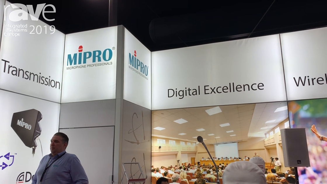 ISE 2019: Mipro Gives Overviews Range of Microphones and Portable PA Systems