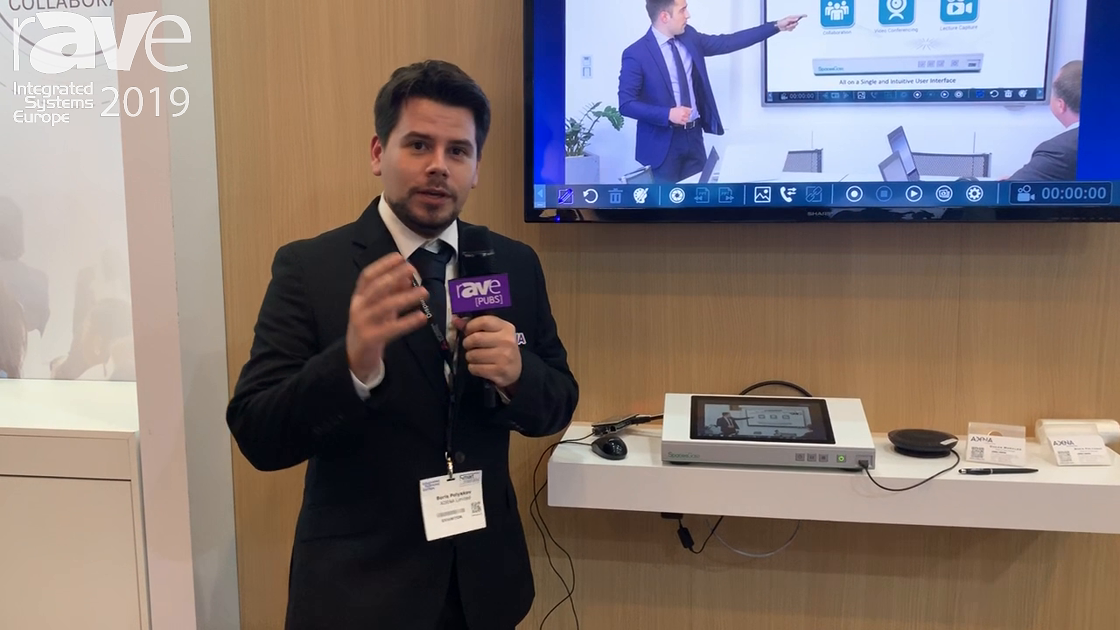 ISE 2019: AREC Demos SG-1 Touch Interactive Collaboration System