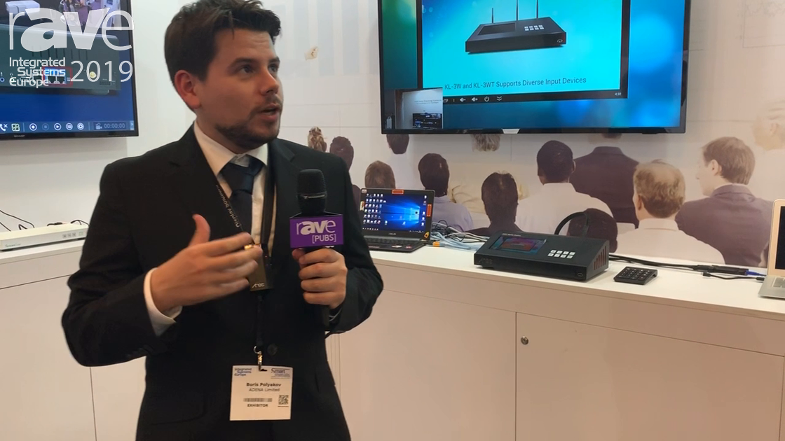 ISE 2019: AREC Shows the CI-T21H Auto Tracking Camera