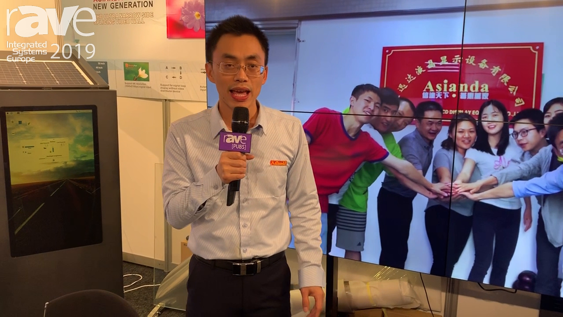 ISE 2019: Asianda Talks About LCD Display Video Wall