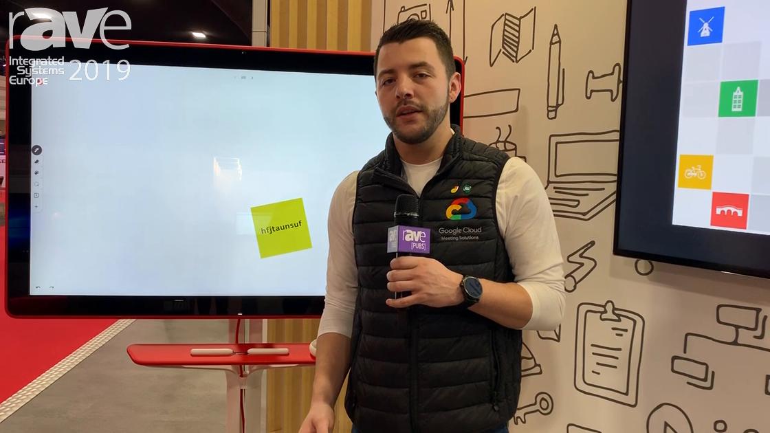 ISE 2019: Google Cloud Talks About Google Meet on Jamboard