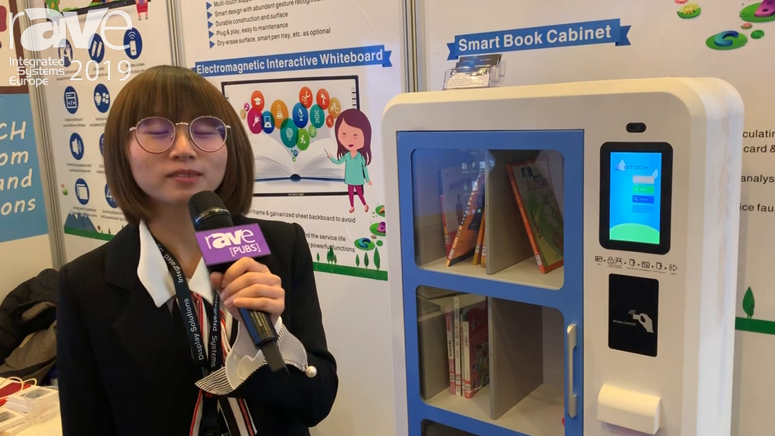 ISE 2019: INTECH Showcases Its Smart Library Kiosk, Basically a Book Vending Machine