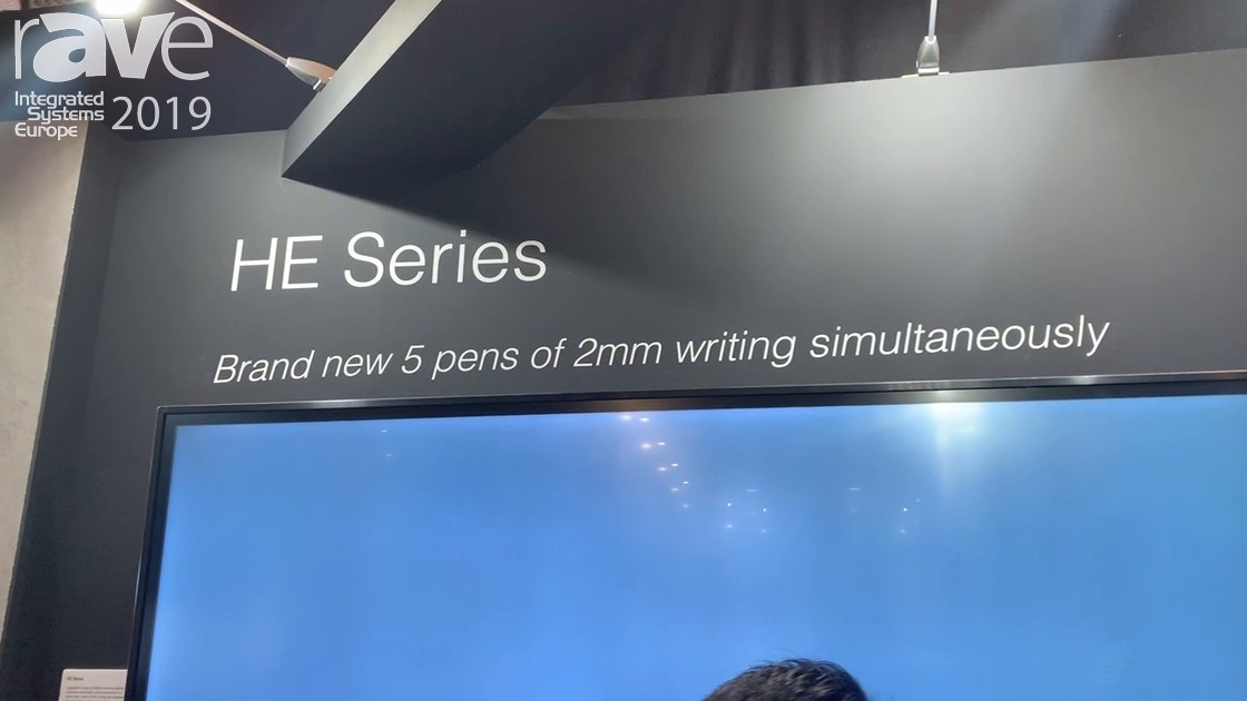 ISE 2019: IRTOUCH Demos HE Series 86″ Touch Display