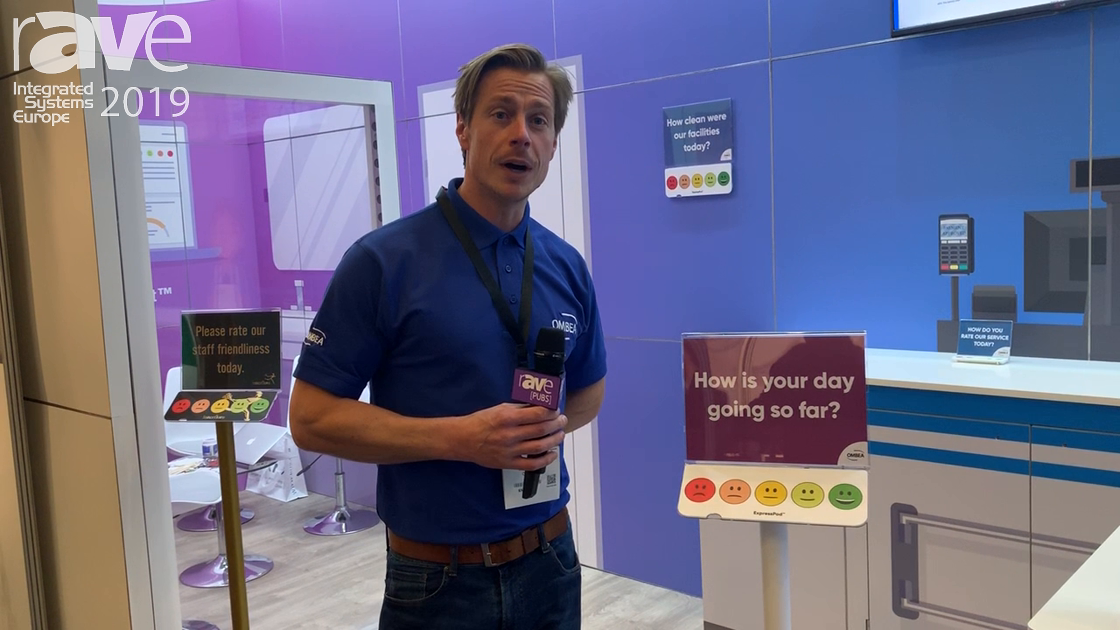 ISE 2019: OMBEA Demos Interactive Feedback Systems Express Pod