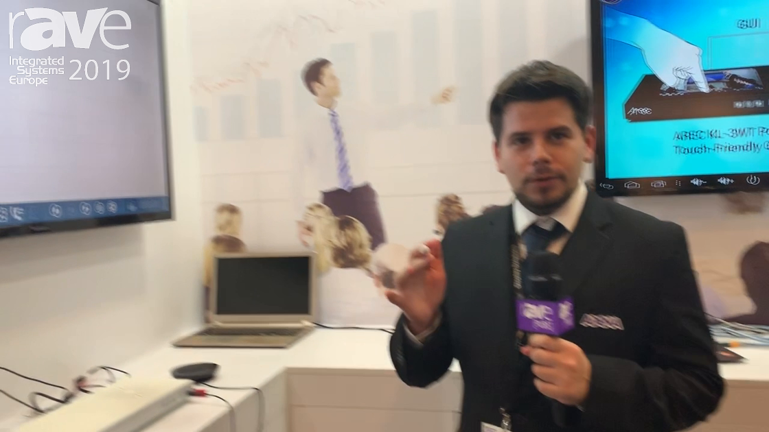 ISE 2019: AREC Talks About Rada PreciseTouch Interactive Solution
