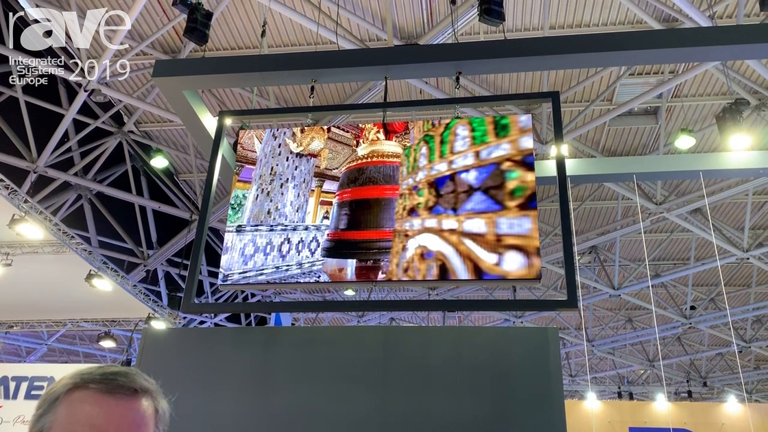 ISE 2019: Daktronics Introduces the NPN-1.9mm, Shows With HDR Content for Digital Signage